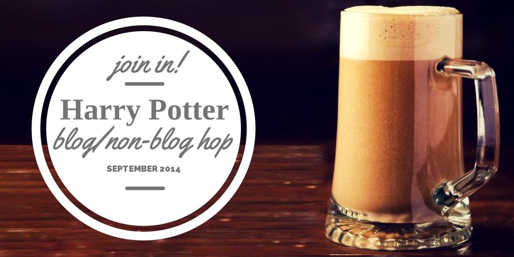 image of butterbeer links to Harry Potter Blog Non Blog Hop Sept 2014
