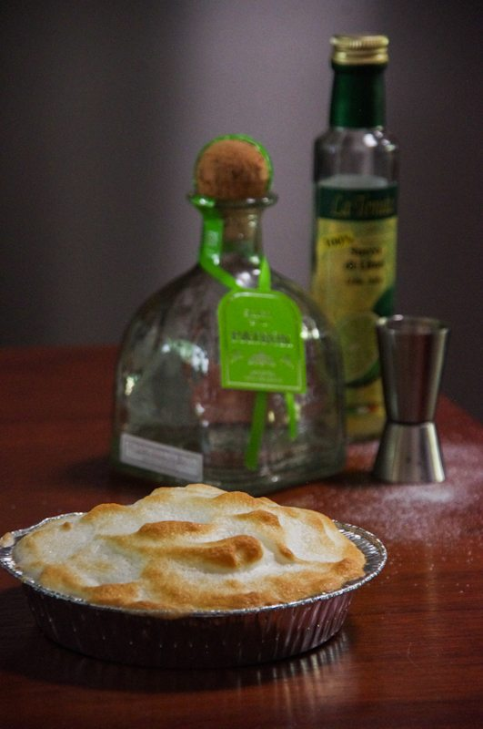 tequila shot pie recipe for treasure island dinner party