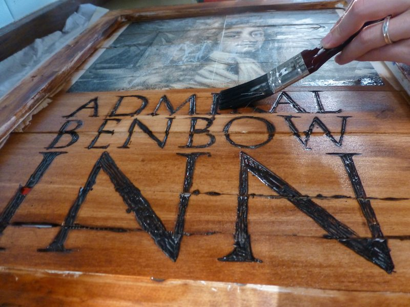 treasure island party admiral benbow signage how to tutorial-11