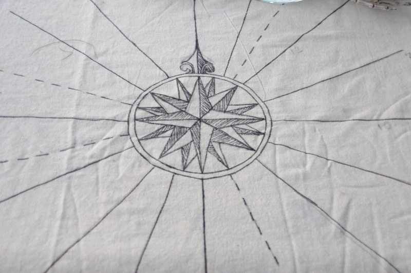treasure island party tablecloth detail-2