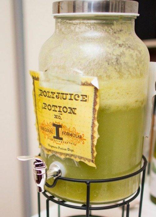 Polyjuice potion | Harry Potter recipe blog hop