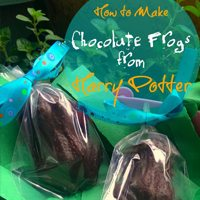chocolate frogs harry potter recipe