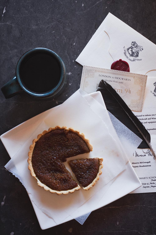 treacle tart | Harry Potter recipe blog hop