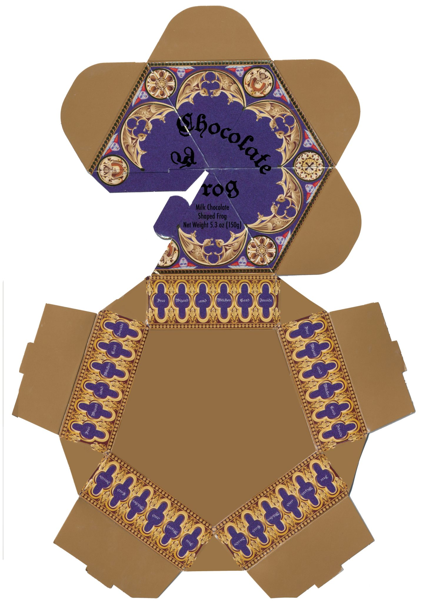 It's just a photo of Unusual Chocolate Frog Printable