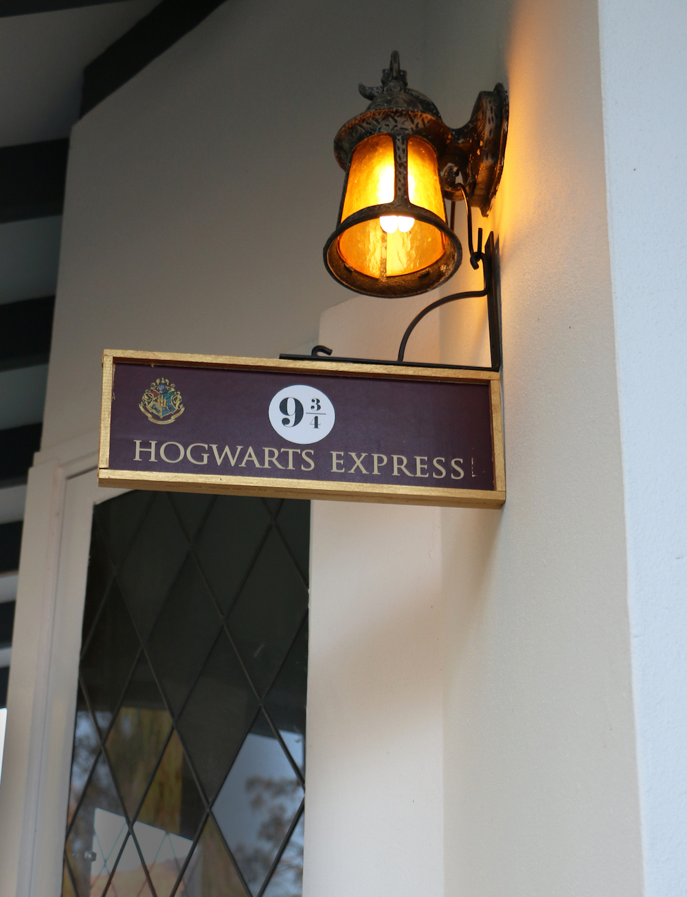 hogwarts express signage | A Harry Potter Hogwarts Dinner Party