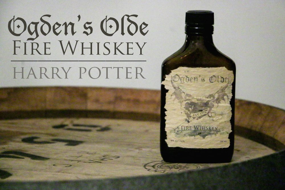 ogdens olde fire whiskey recipe | Harry Potter | Food in Literature