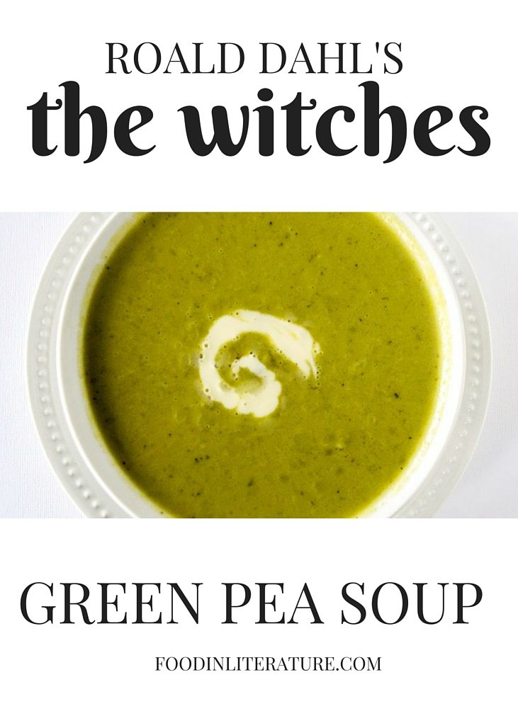 Green Pea Soup recipe from Roald Dahl's 'The Witches'