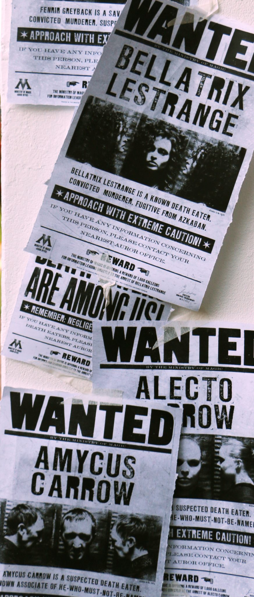 wanted posters | A Harry Potter Hogwarts Dinner Party