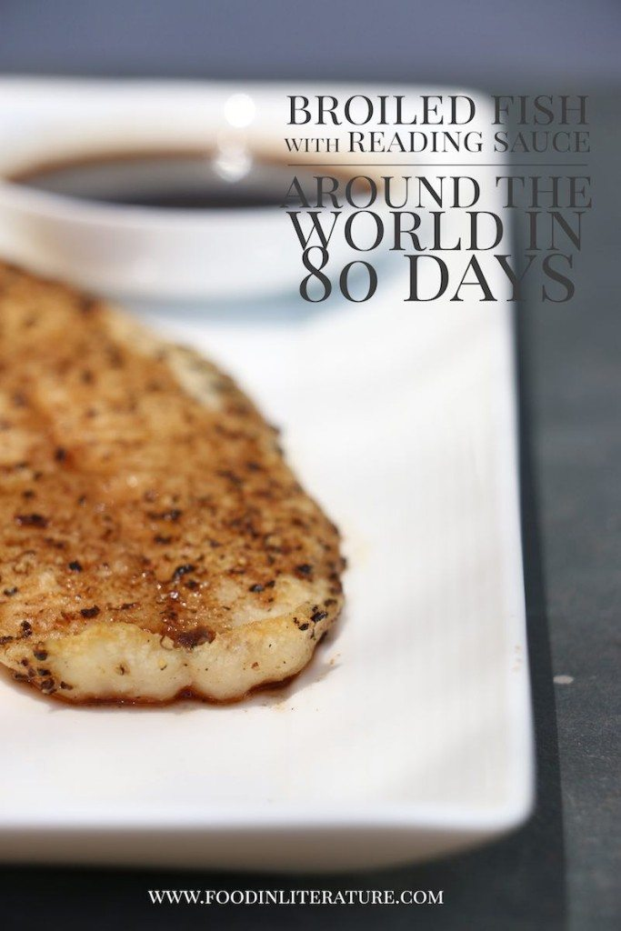 Around the World in 80 Days Reading sauce recipe Food in Literature