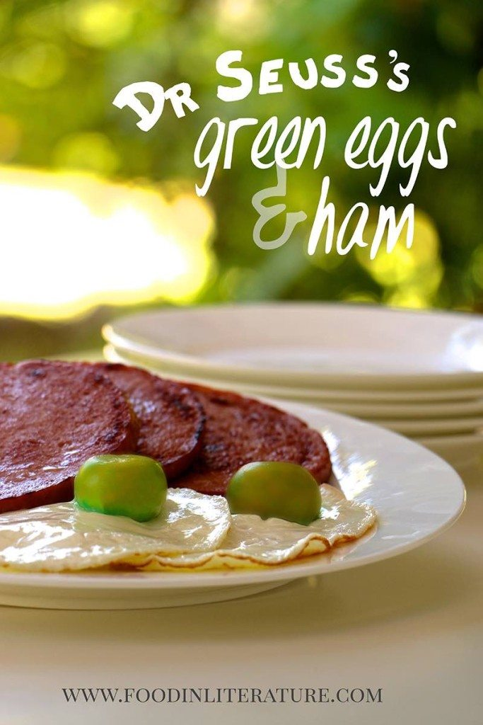 Dr Seuss Green Eggs and Ham Food in Literature
