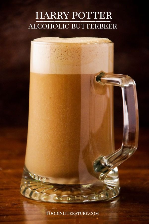 Did you know Butterbeer was actually invented in the 16th century? All these years later it's still a delicious recipe with just 5 ingredients. Definitely not for those underage since it contains alcohol, but those adults who aren't fans of beer loved this recipe!