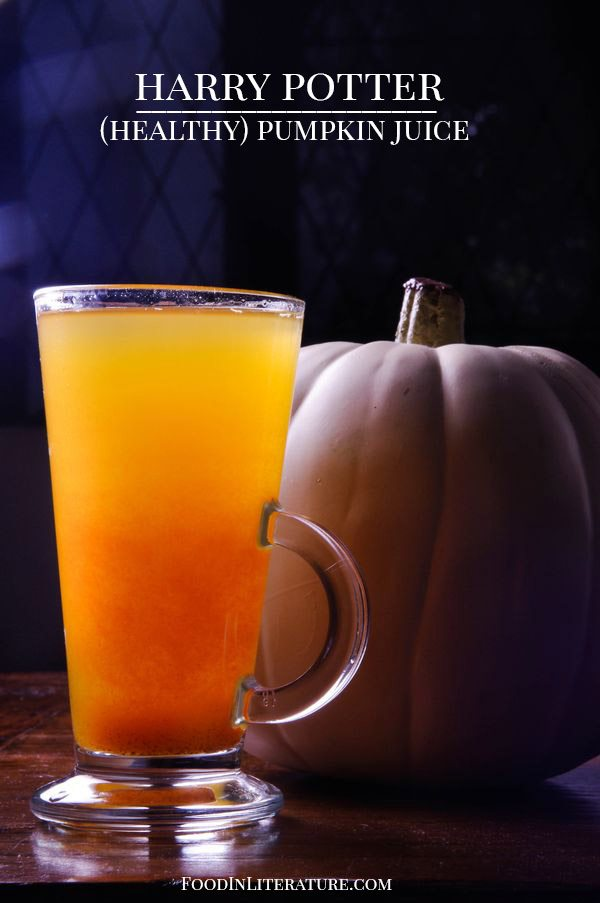 Harry Potter healthy pumpkin juice Food in Literature