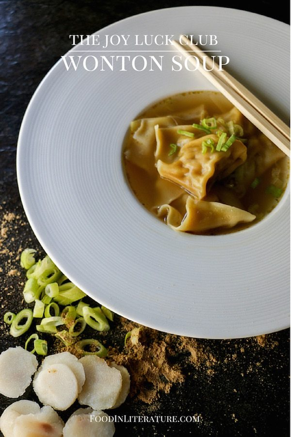 Joy Luck Club Wonton Soup Food in Literature
