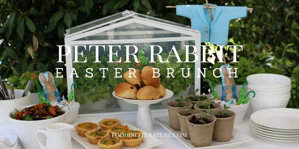 Peter Rabbit | Easter Brunch | Food in Literature