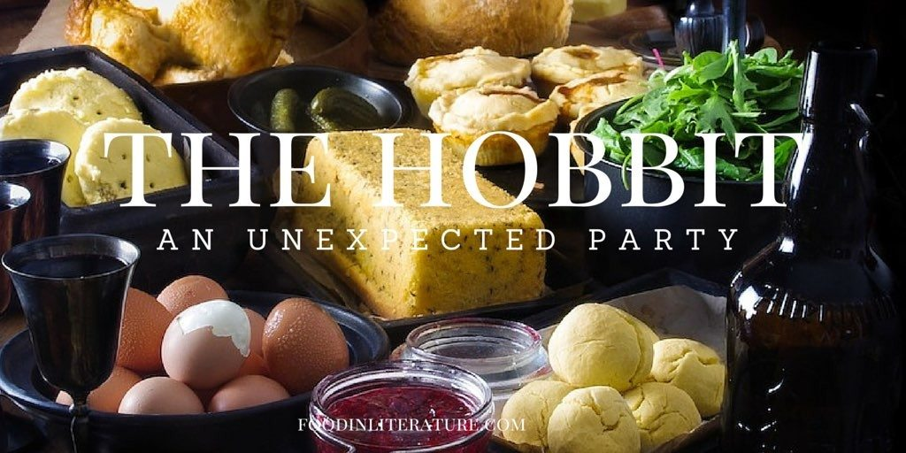 The Hobbit | An Unexpected Party Menu | Food in Literature
