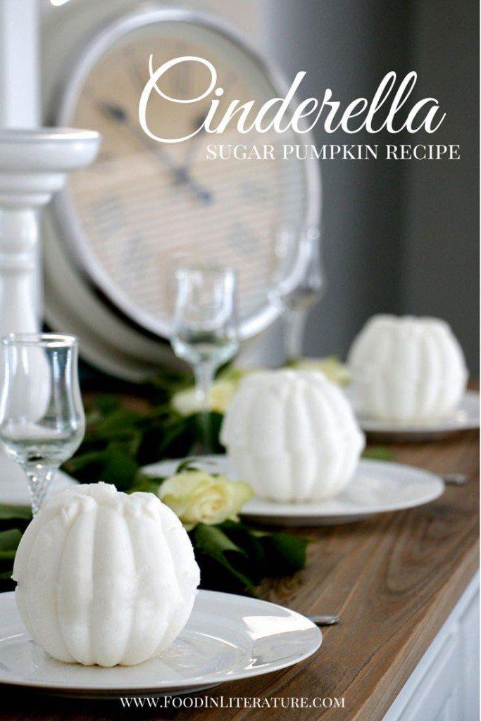 Cinderella sugar pumpkin for dinner party recipe Food in Literature