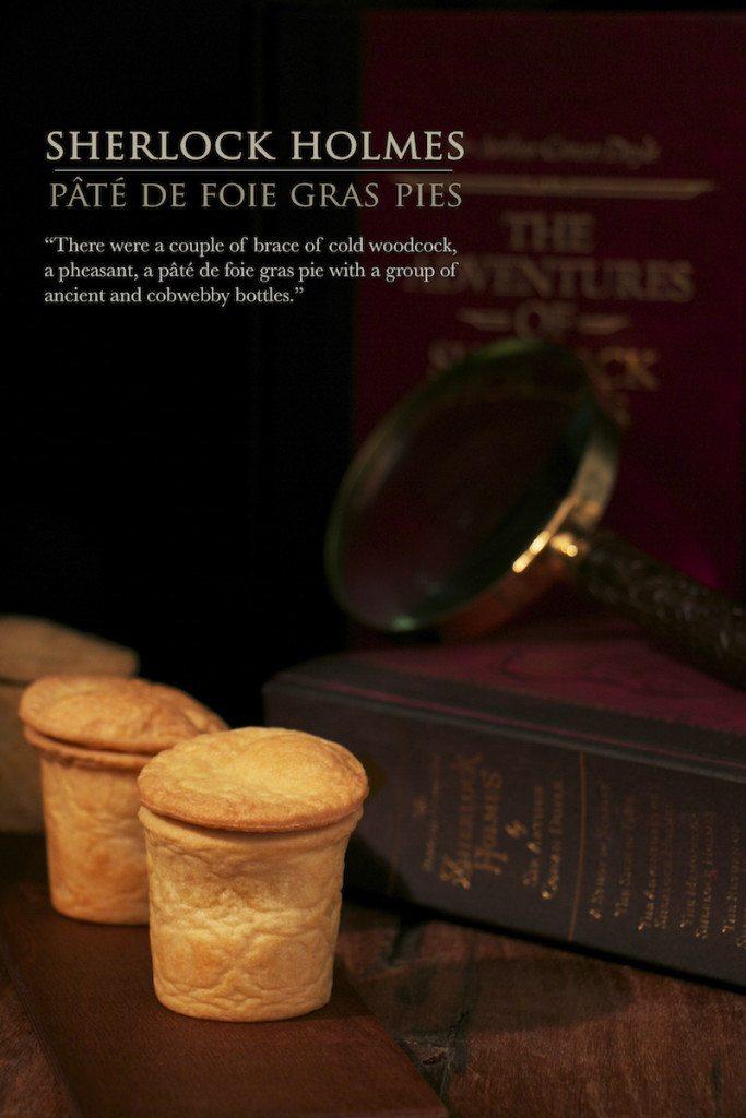 Sherlock Holmes Pate de fois gois pie Food in Literature V2
