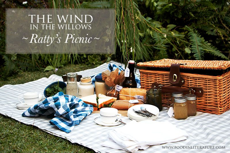 Wind in the Willows Ratty's Picnic Food in Literature