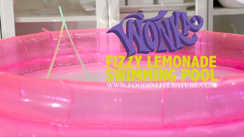 Wonka Fizzy Lemonade Swimming Pool by Food in Literature