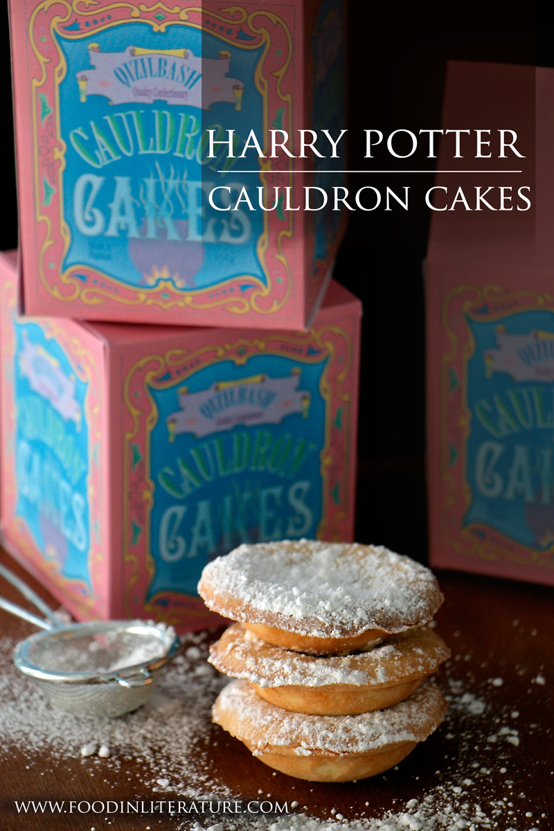Harry Potter Honeydukes Qizilbash Cauldron Cakes Food in Literature