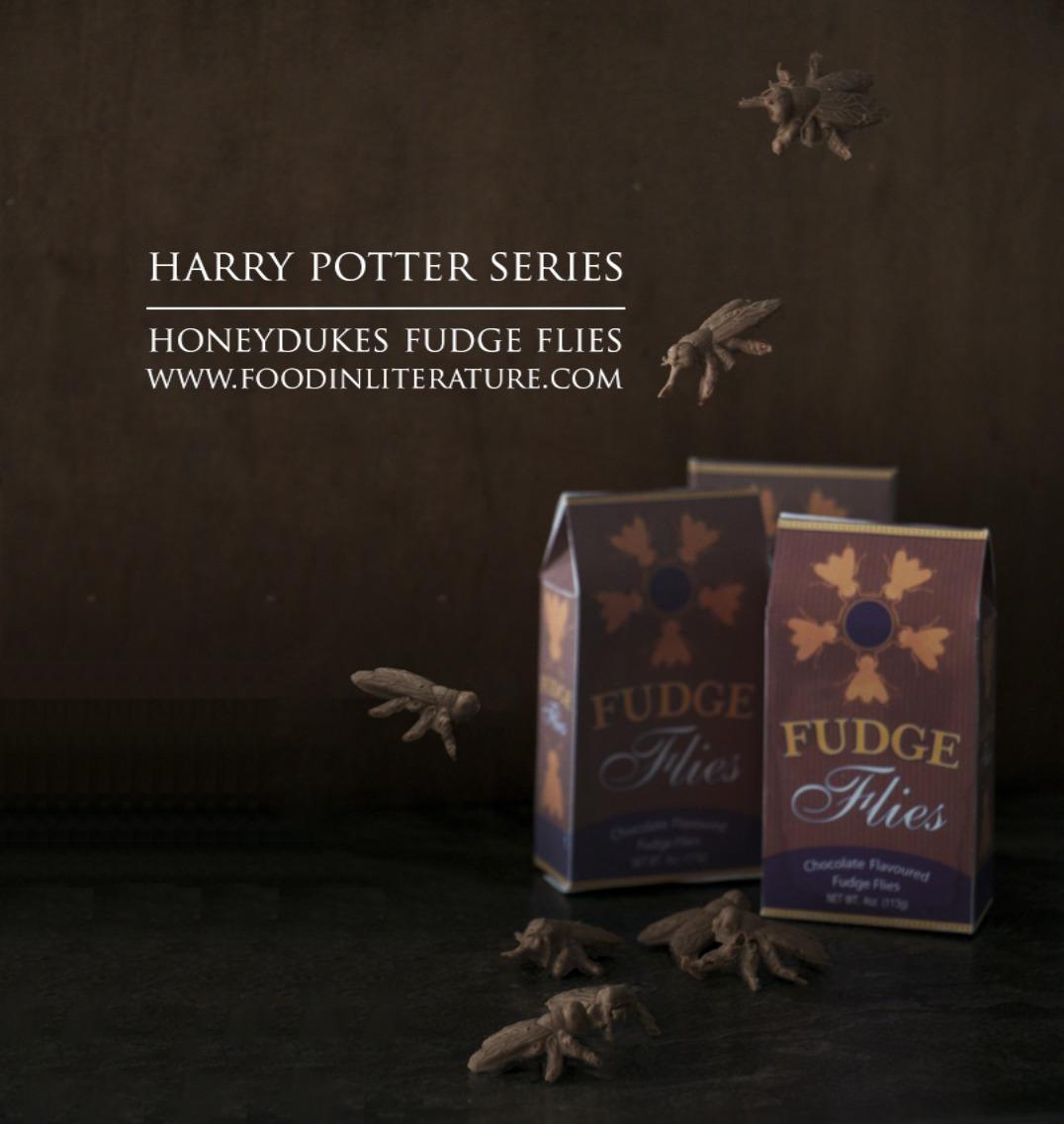 Honeydukes Fudge Flies recipe| Harry Potter Series | Food in Literature