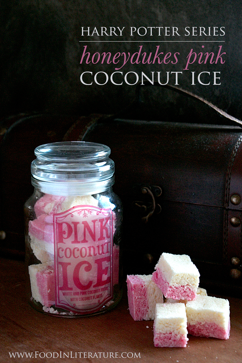 Honeydukes Pink Coconut Ice | Harry Potter Series