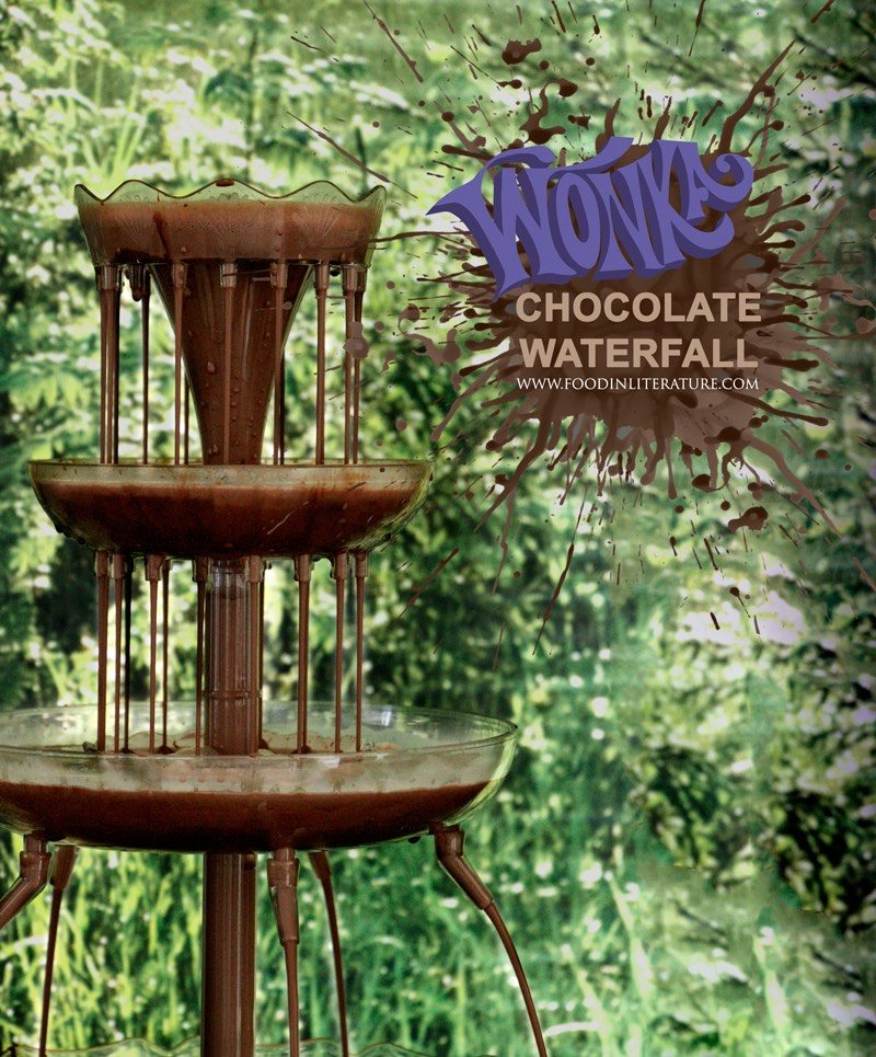 Make Wonka's Chocolate Waterfall the centrepiece for your next Charlie and the Chocolate Factory party!