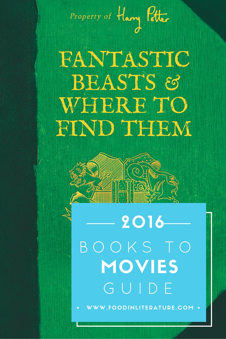 Find out what books are being turned into movies in 2016.