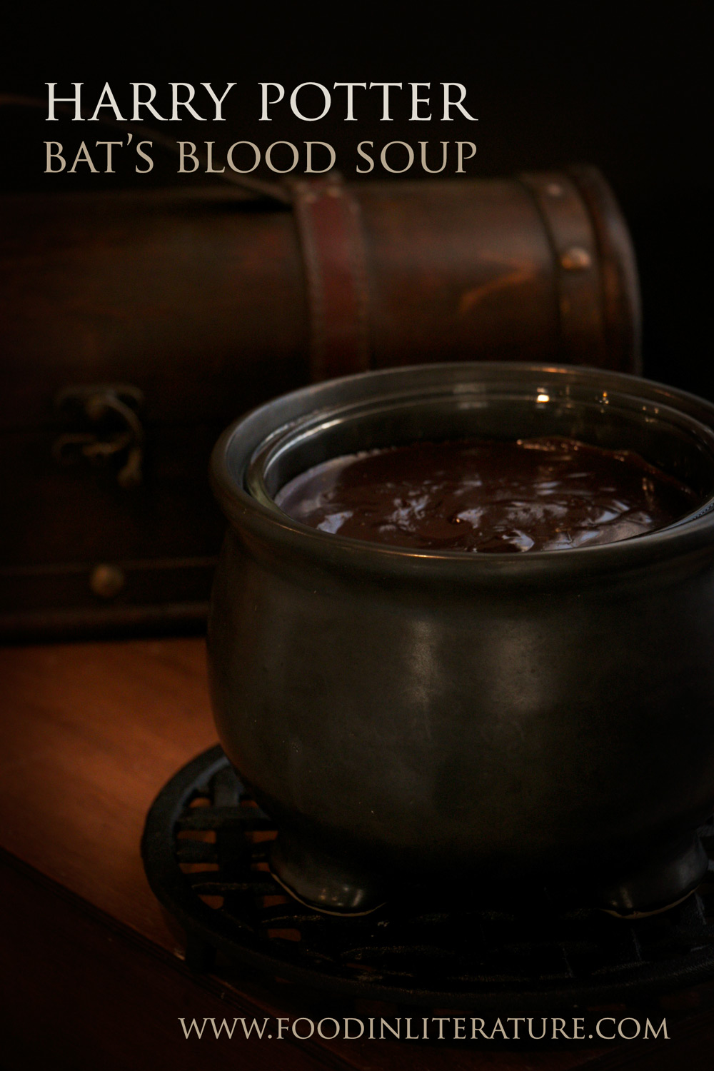 Make this bat's blood soup, found in Honeydukes, and have a Harry Potter fondue party. Easy to make and the few simple ingredients means you don't need to keep it heated.