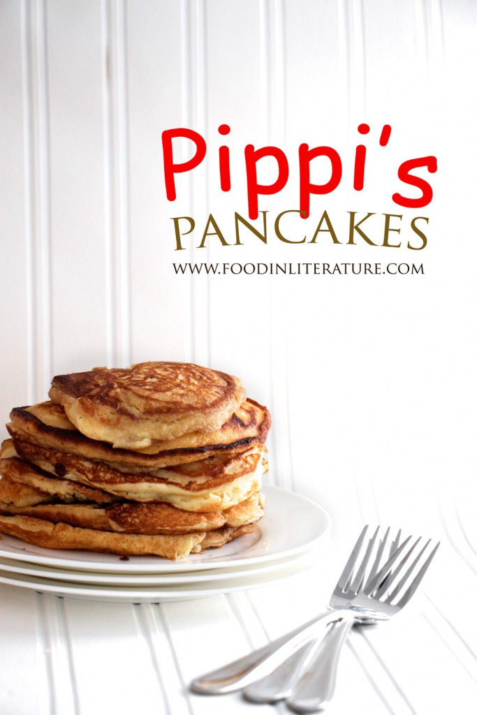 Pippi had the right idea--the perfect Sunday is spent flipping pancakes with your family or friends. Make this easy recipe and have on the table pronto.