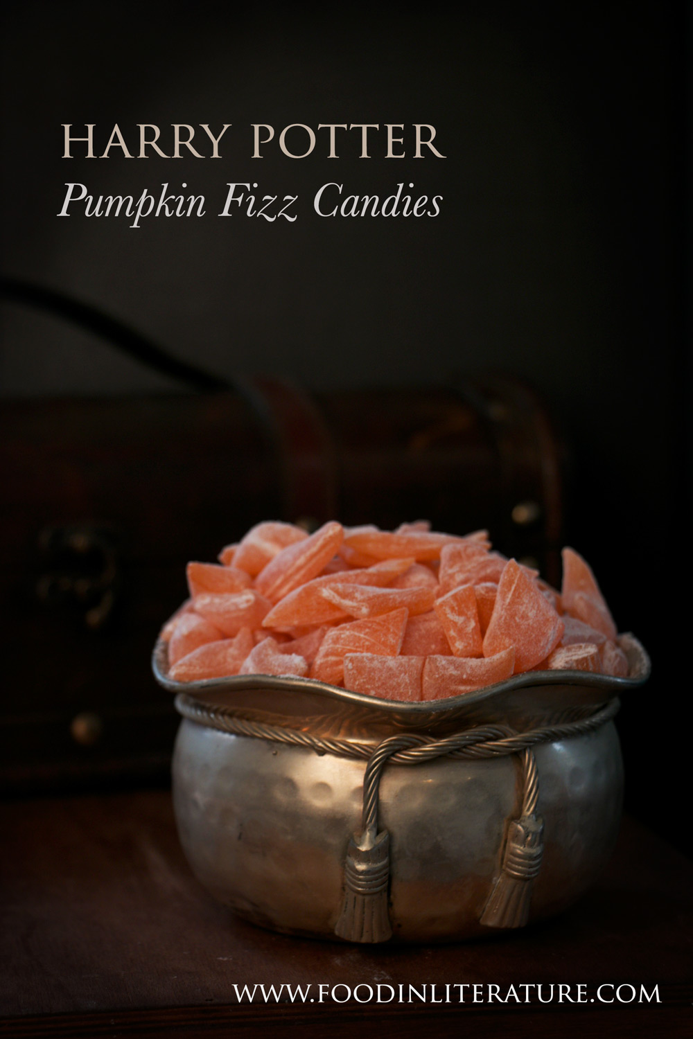 Harry Potter Honeydukes Pumpkin Fizz hard candies recipe | Food in Literature