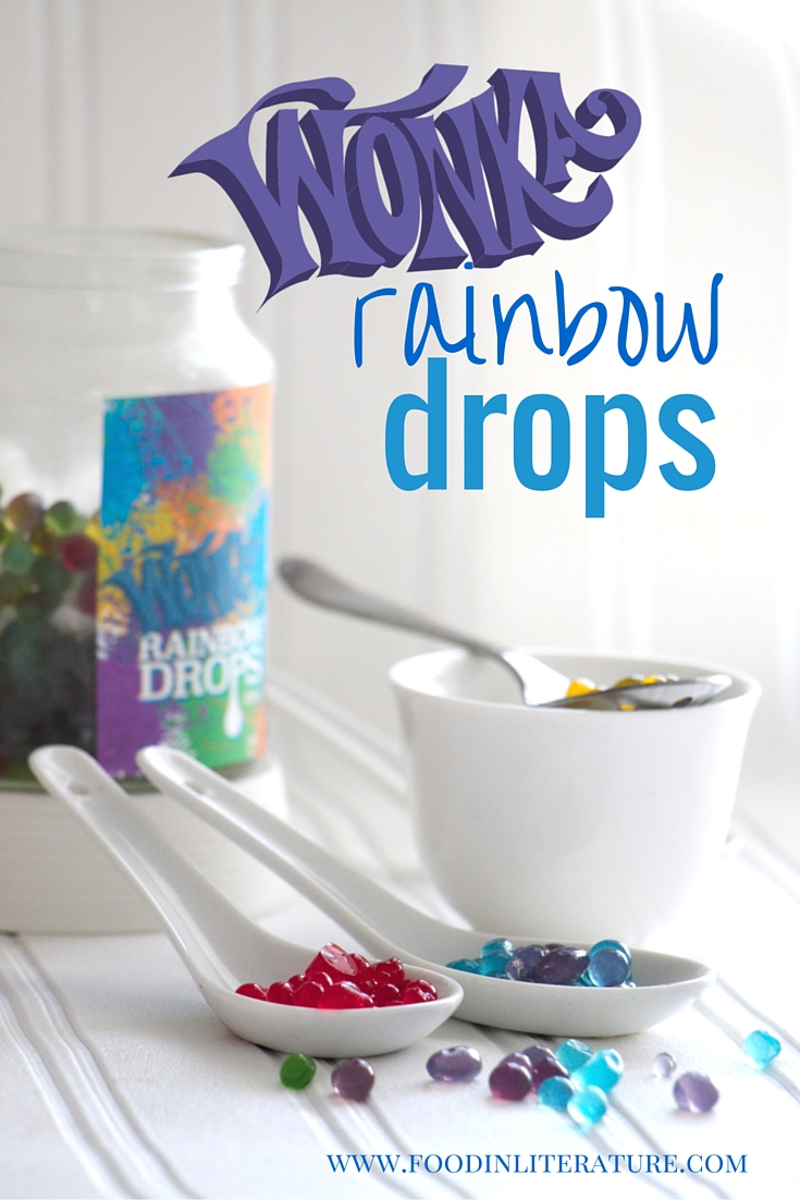 What would a rainbow taste like to you? Using any liquid flavour you want, we show you how to make rainbow drops using only four ingredients. Great for a science project at school or a party favor for a Charlie and the Chocolate Factory party.
