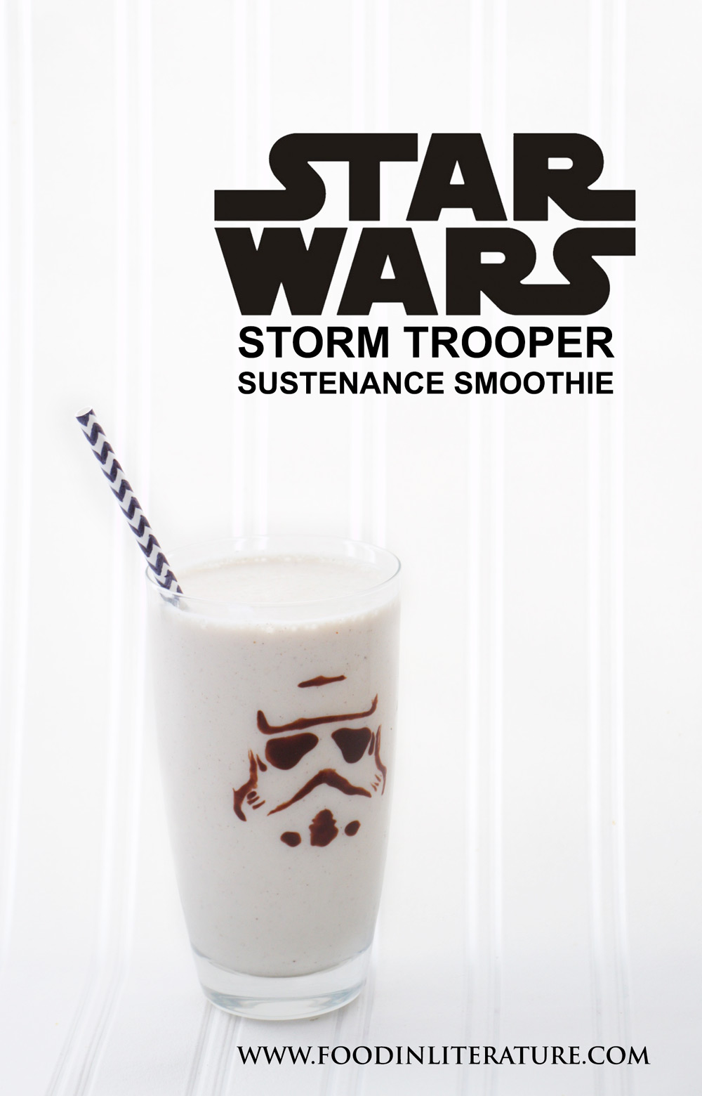 Make this simple Star War Storm Trooper Sustenance Smoothie to keep your energy going through the day.