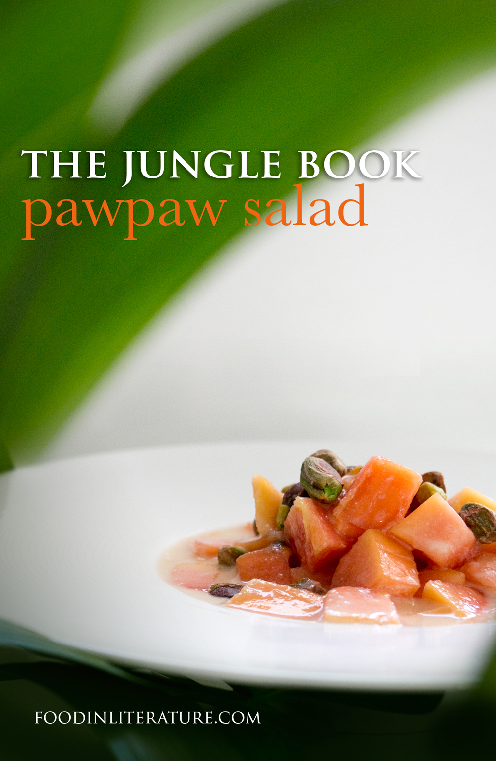 Big PawPaw Salad |The Jungle Book