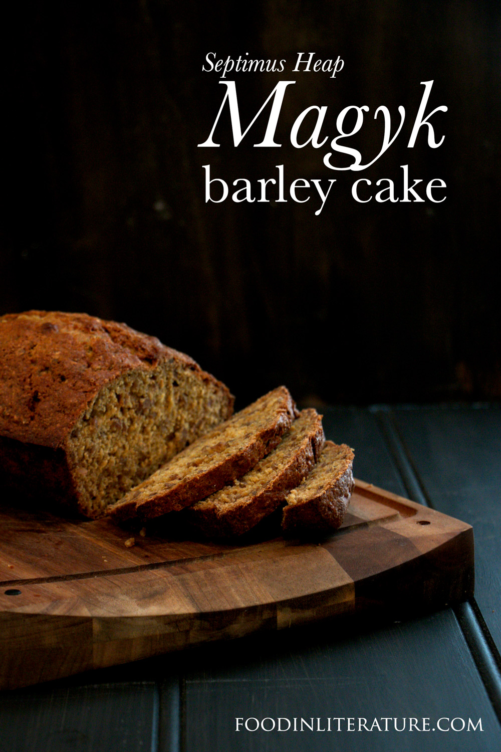 For fans of Septimus Heap, here's a barley cake recipe from Sally Mullin's cafe.