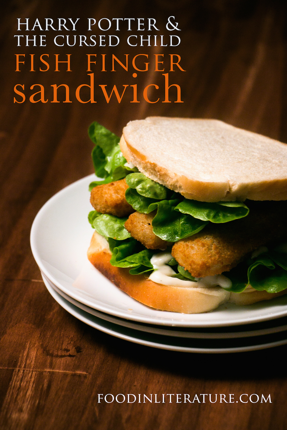 harry potter cursed child fish-finger-sandwich recipe