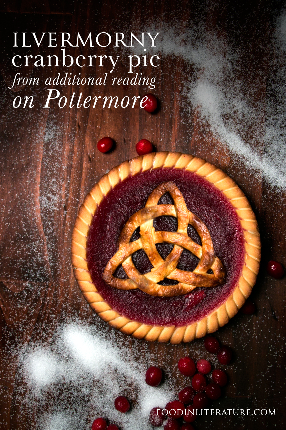 Ready for Fantastic Beasts in November? I hope you've read up on the back history of magic in North America on Pottermore! Inspired by James' love of cranberry pie, we made this recipe. Super simple to make, it'll be perfect for Thanksgiving and Christmas!