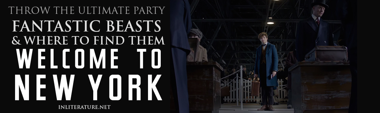 Throw the ultimate party, inspired by Fantastic Beasts and Where To Find Them. With tips for invites, decor, food and fashion, plus free downloads to get you started, your party will be perfect!