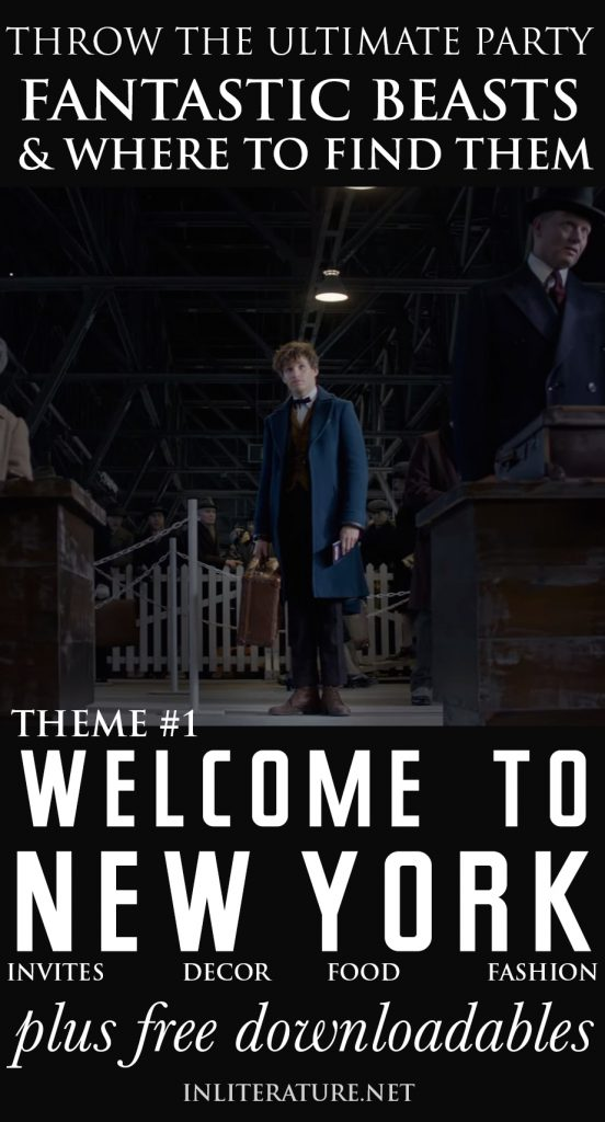 'Welcome to 1920s New York' Theme | Throw A Fantastic Beasts and Where To Find Them Party