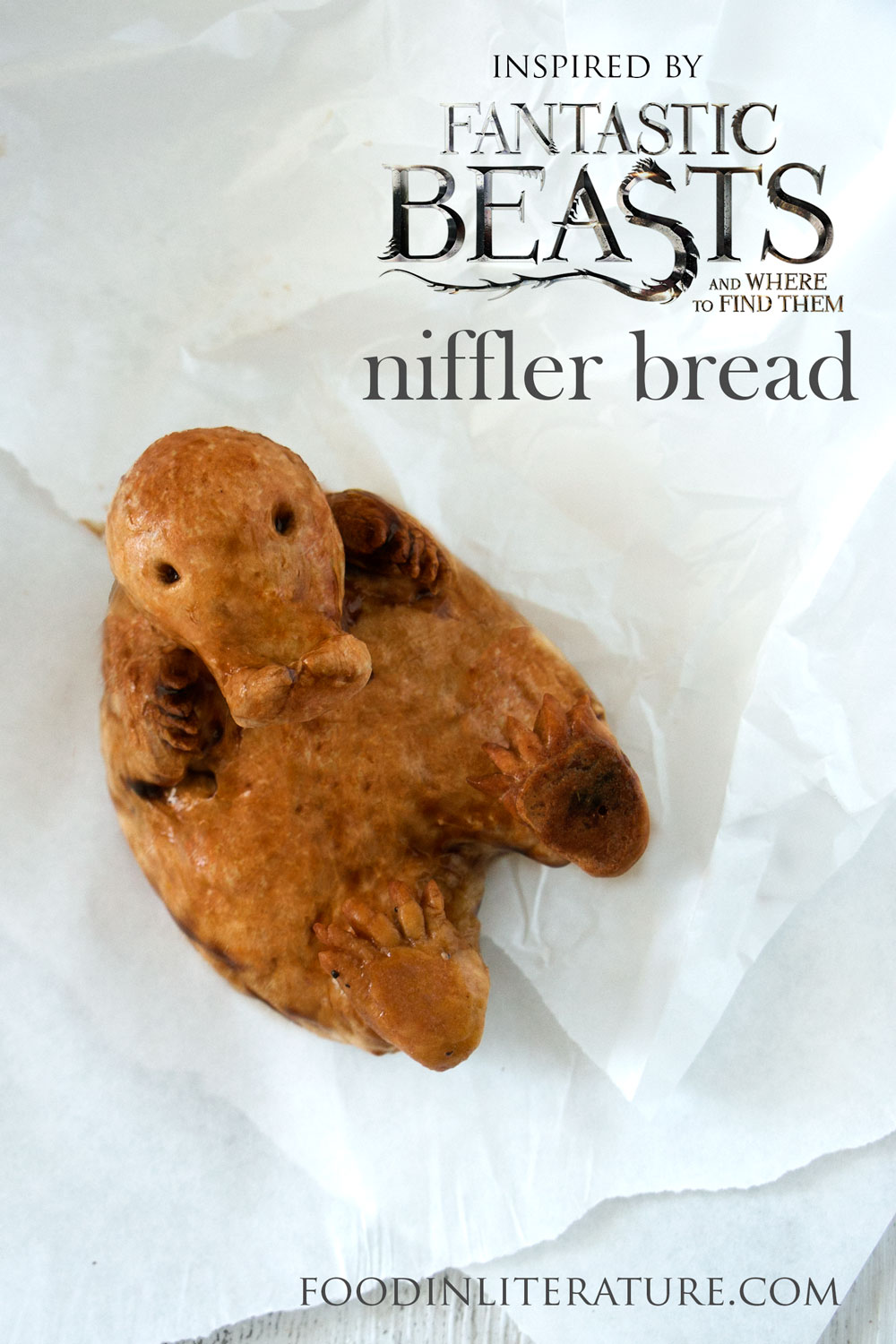 Niffler Bread | Fantastic Beasts And Where To Find Them