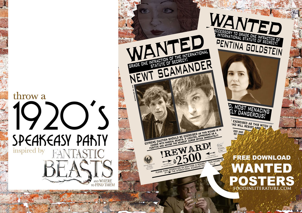 Throw a 1920\'s speakeasy party in \'The Blind Pig\' | Fantastic Beasts ...