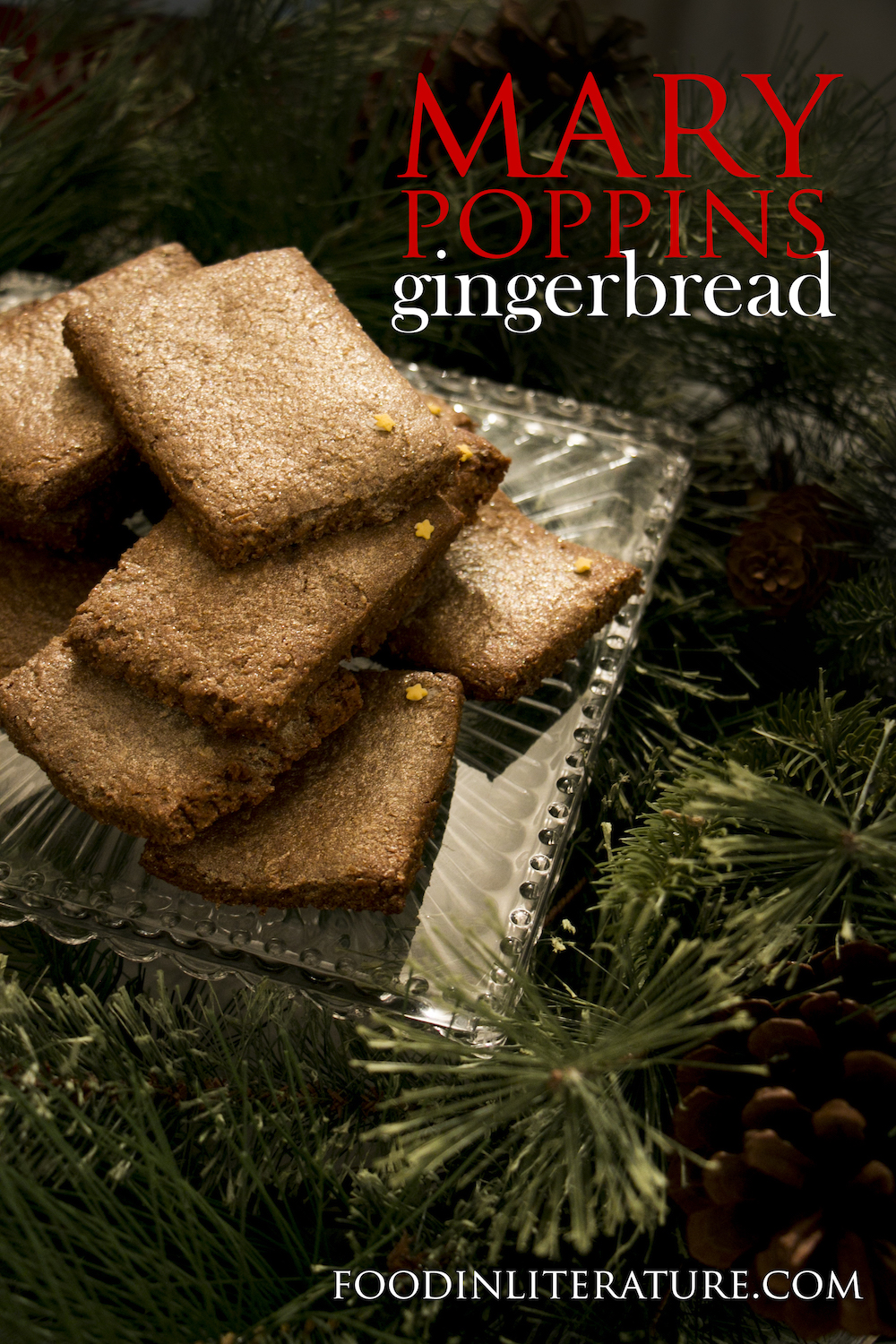 Make up a batch of gingerbread inspired by the magical Mary Poppins this Christmas! It's the perfect food gift for any book lover.