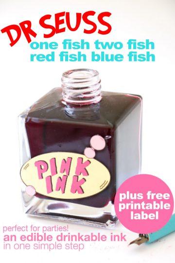Dr Seuss Pink Ink