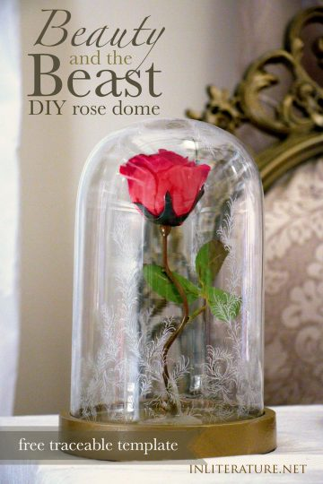 Beauty and the Beast rose dome tutorial