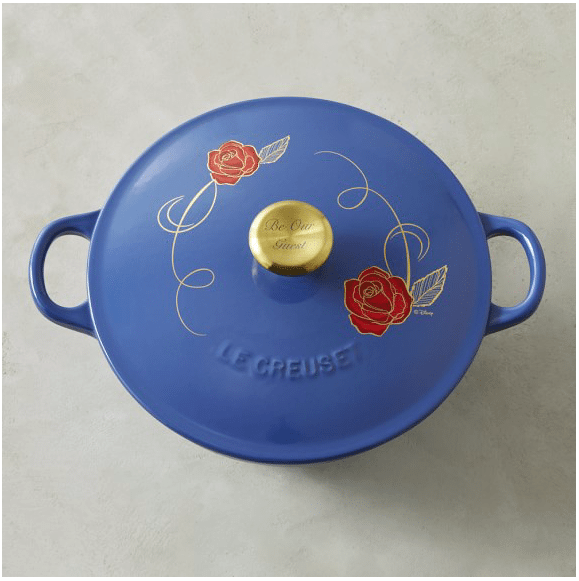 Le Creuset Williams Sonoma Beauty and the Beast collection