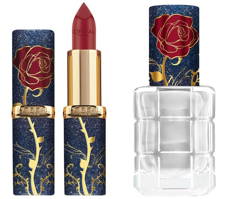 Lorena lipstick Beauty and the Beast