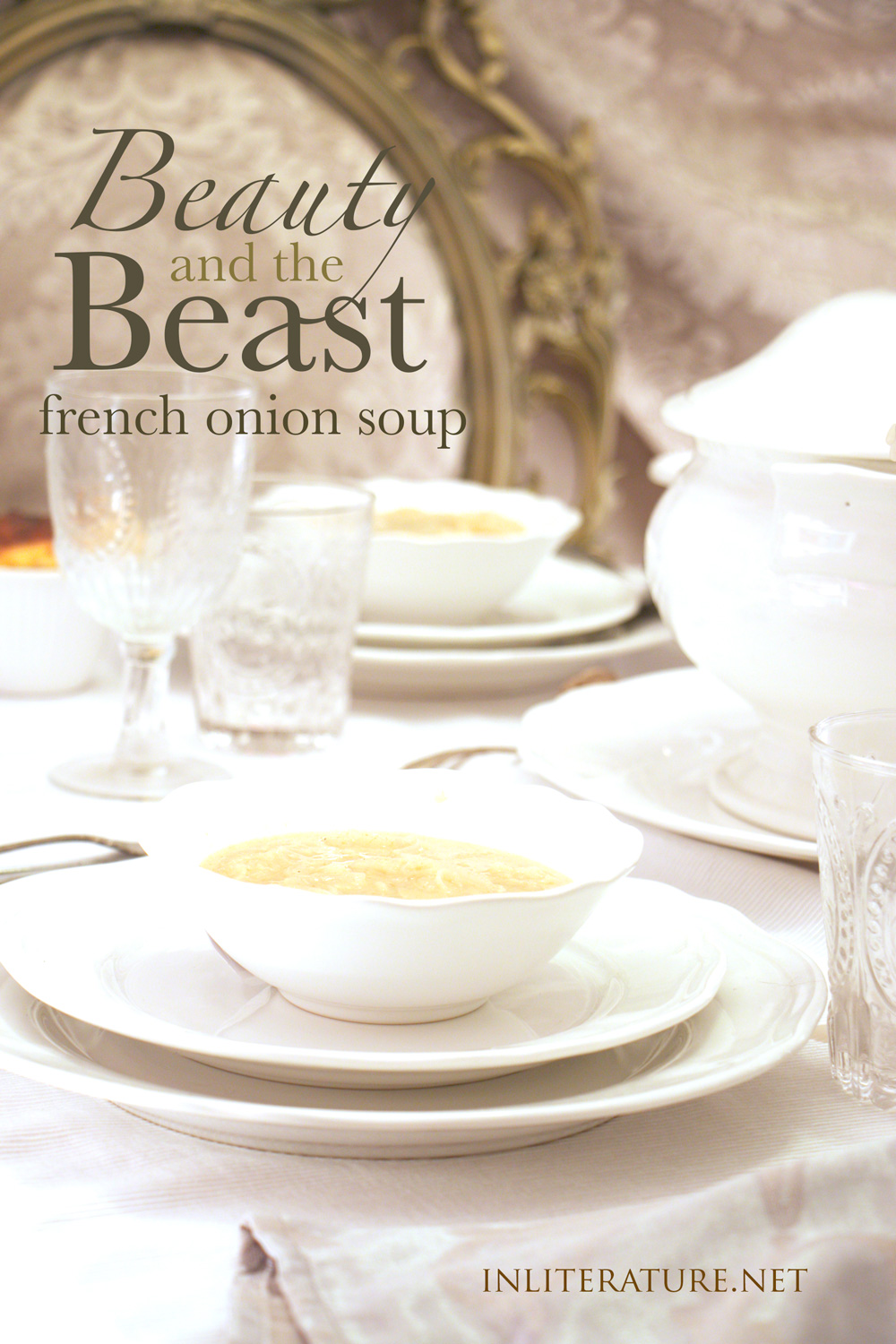 Beauty and the Beast French Onion Soup