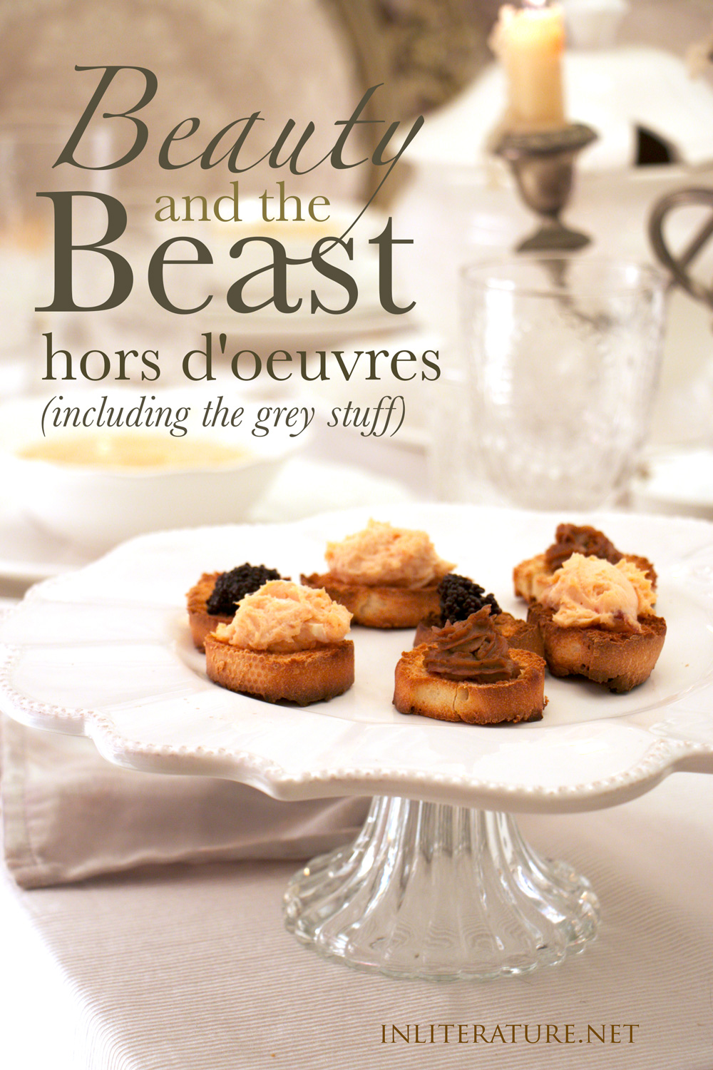 Beauty and the Beast hors doeuvres