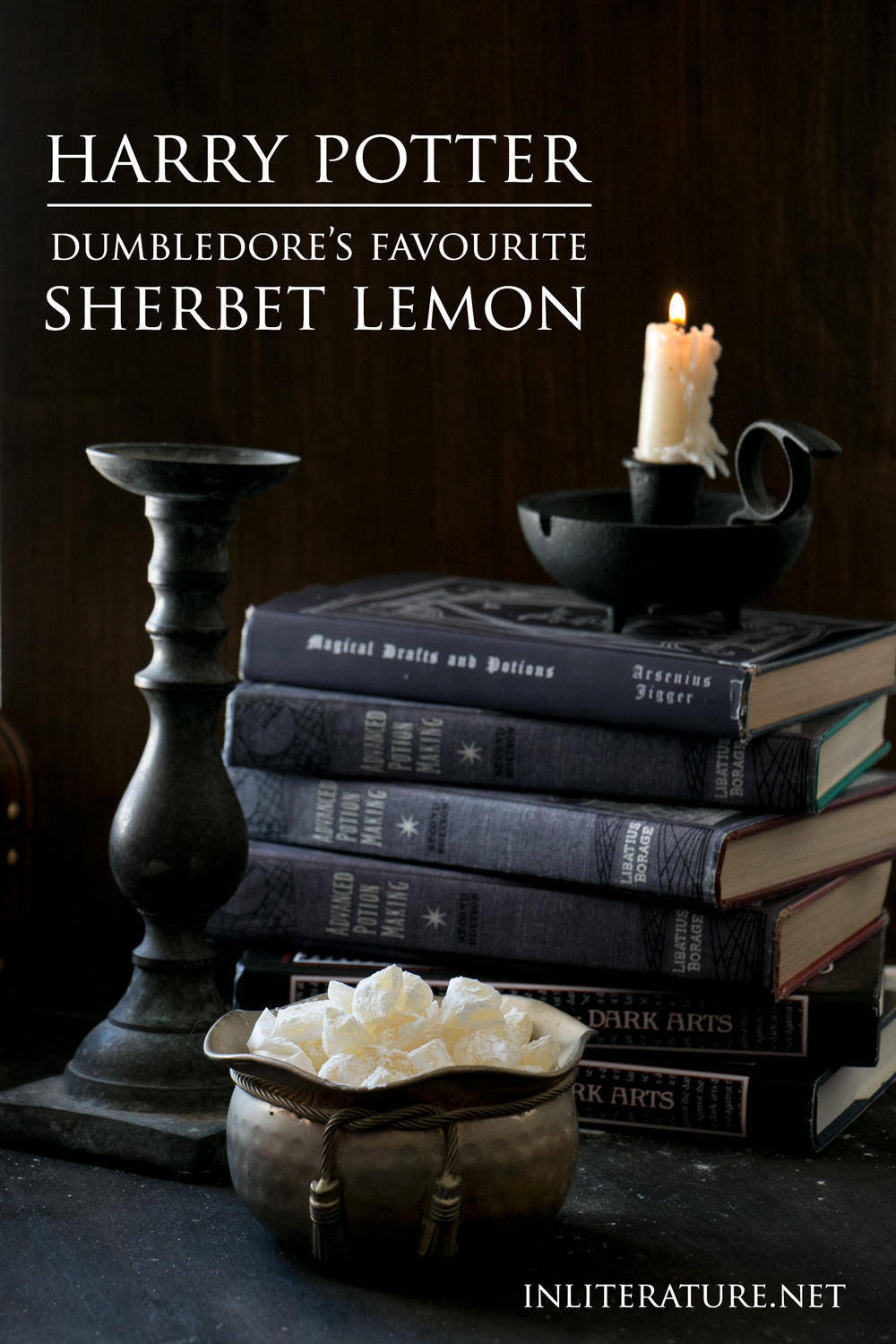 Harry Potter fan? Indulge in Dumbledore's favourite sweet, sherbet lemon.