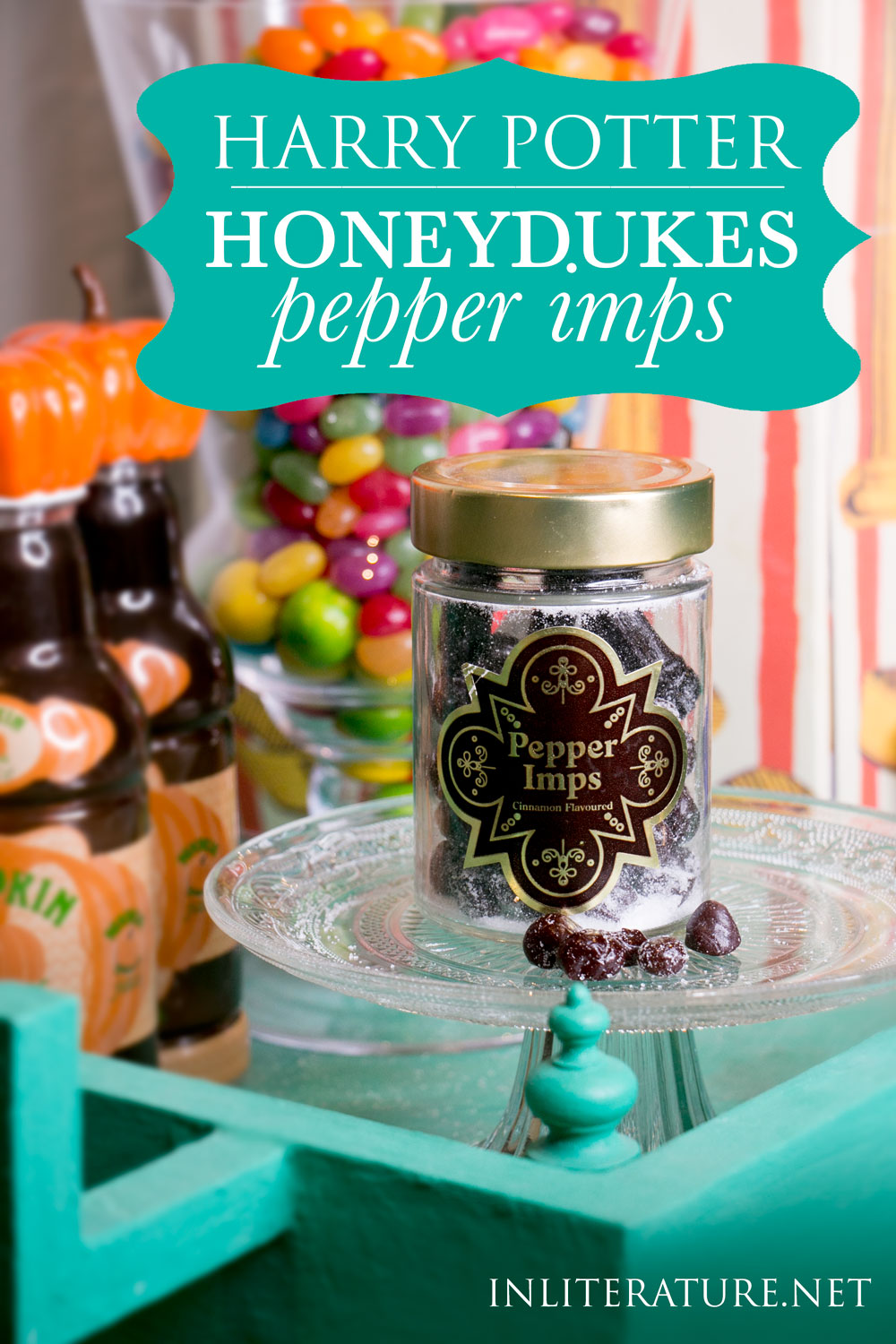 Make your own Pepper Imps at home, where you can control how much they make your ears smoke from the heat!